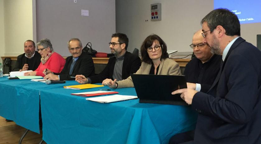 Journée de lancement, jeudi 31 janvier à Ally (Cantal), de la première charte des solidarités avec les aînés du département.