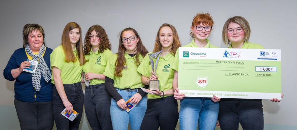 Les élèves de seconde générale Edgard-Pisani de Chaumont ont gagné le premier prix.