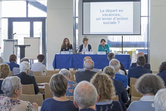 """160 personnes du réseau et des partenaires ont participé, le 29 mai, à la journée de l'action sanitaire et sociale sur la thématique : """"La politique vacances : quel levier d'action sociale ?"""""""