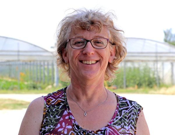 Valérie Hanon, directrice de Bio-Solidaire.