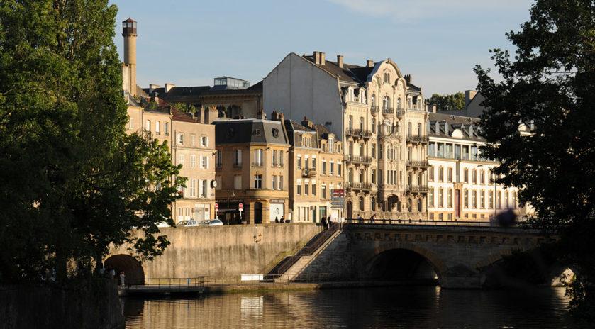 ville de Metz - Moselle - Lorraine
