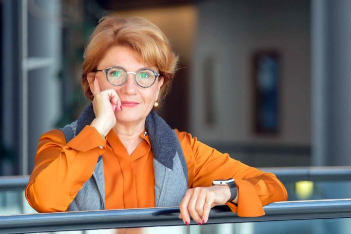 Angélique Delahaye, maraîchère, présidente de Solaal, maire de Saint-Martin-le Beau (Indre-et-Loire)