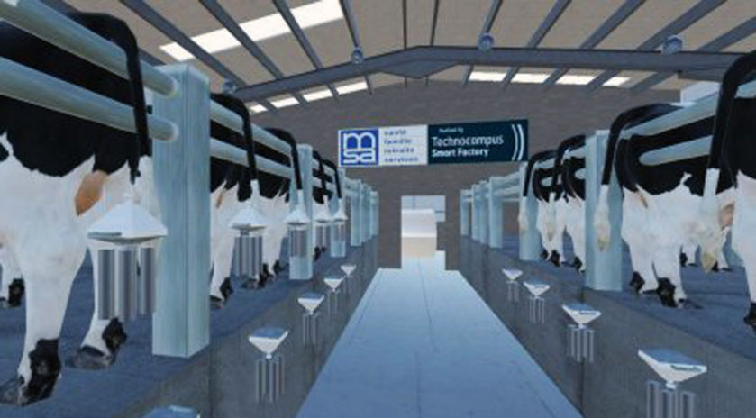 La réalité virtuelle s'invite à la ferme Le salon Tech'Élevage, qui se tenait du 21 au 23 novembre à La Roche-sur-Yon, a été l'occasion pour les équipes de la MSA Loire-Atlantique – Vendée de présenter aux visiteurs leur tout nouvel outil de prévention connecté : la salle de traite virtuelle.