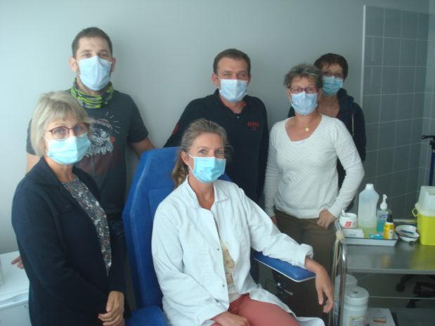 Créé dans les années 1960 pour pallier le déficit infirmier en Corrèze, le service de soins infirmiers de la MSA Limousin est unique en France.