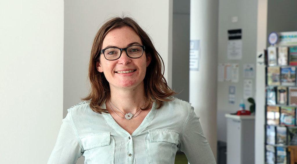 """Marianne Alphonse, est la Mme """"Grippe"""" de la MSA. Elle est chargée de la mise en œuvre de la campagne de vaccination et de tout le dispositif MSA sur les entretiens personnalisés par téléphone (EPT) grippe."""
