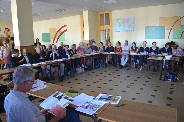 Le comité de pilotage de l'initiative s'est réuni à Préaux, en Ardèche.
