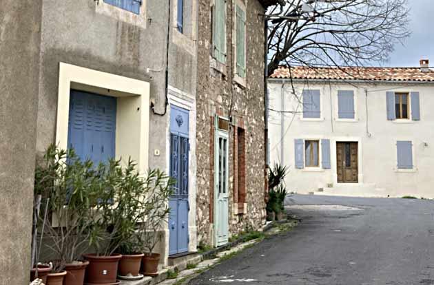 Vue de Saint-Jean-de-Minervois (Hérault)