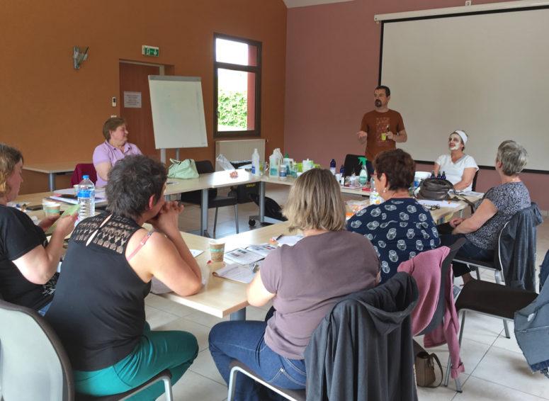 Atelier produits naturels pour les femmes de Thiérache