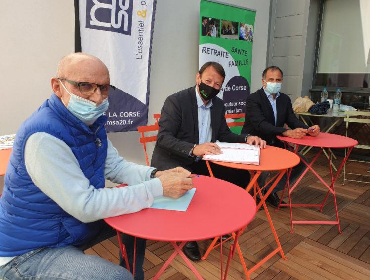 La MSA de la Corse et l'ADMR de Corse du Sud signent une convention pour le lancement du dispositif Bulle d'air.