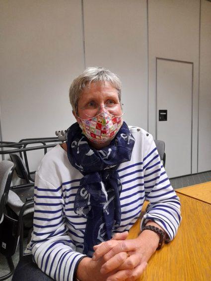Claire Dupont, Présidente de la Fédération MFR des Territoires Haut Marnais et Vosgien,