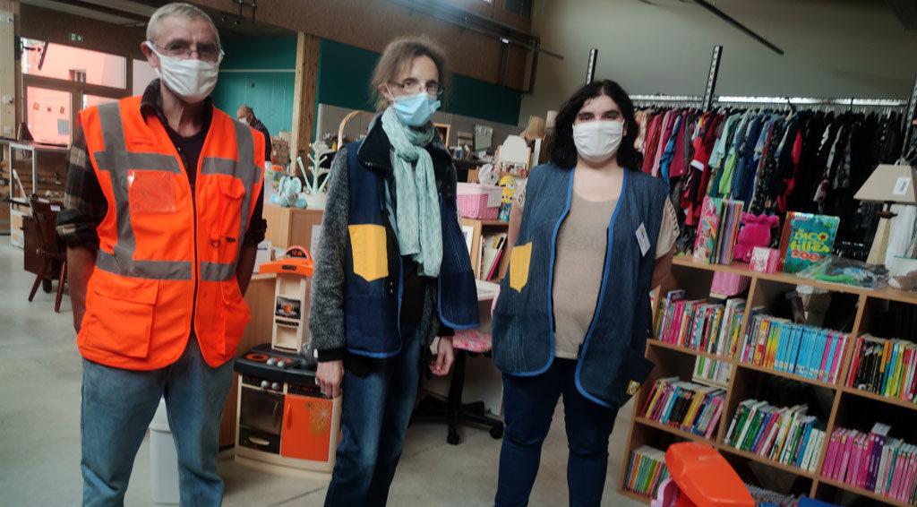 Recyclerie de maiche alexandre roger journaliste le bimsa salariés en insertion