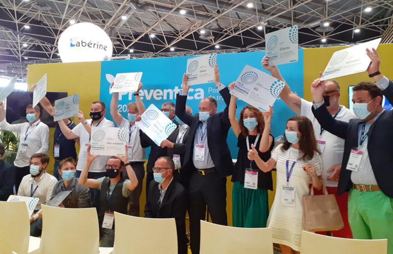Prix innovation Préventica MSA Auvergne